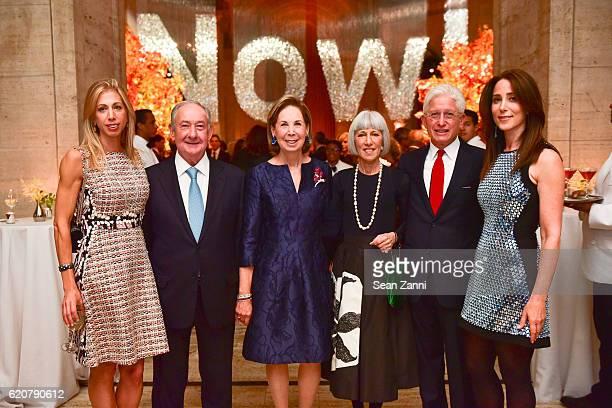 Lisa Kaufman Ed Pantzer Pam Pantzer Maureen Cogan James Snyder and Stacey Bronfman attend AFIM Gala Dinner 2016 at Cipriani 25 Broadway on November 2...