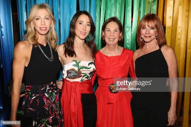 Lisa Kaufman Stacey Bronfman Pam Pantzer and Jill Bernstein attend AFIM Celebracion at Cipriani 42nd Street on October 2 2017 in New York City