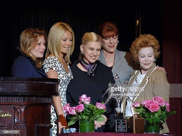 Lisa Kaye Fuld, Kelly Ripa, Ann Levine, Sherry Biller and Honey Cook