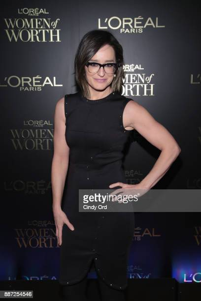 Lisa Kennedy Montgomery attends the L'Oreal Paris Women of Worth Celebration 2017 on December 6 2017 in New York City