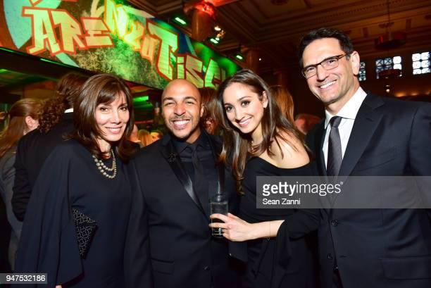 Lisa Kessler Dell Howlett Gabriela Kessler and Brian Kessler attend NYU Tisch School of the Arts GALA 2018 at Capitale on April 16 2018 in New York...