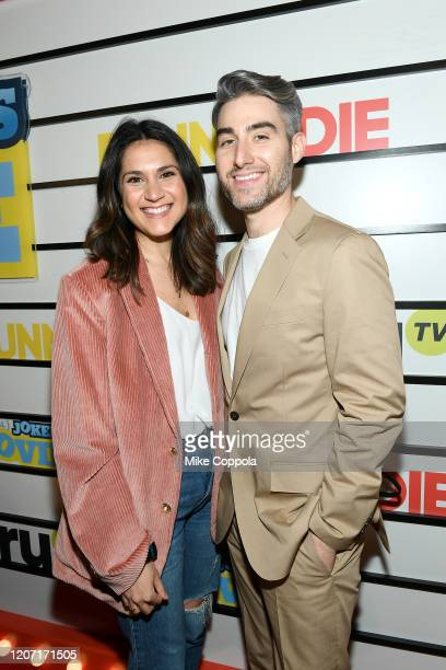 Lisa Kleinman and Casey Jost attend the Impractical Jokers The Movie Premiere Screening and Party on February 18 2020 in New York City 739100