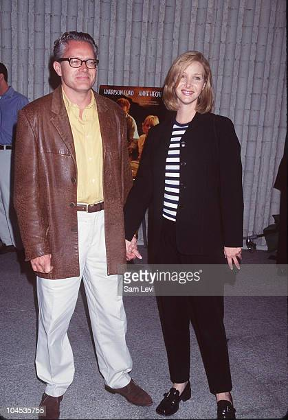 Lisa Kudrow and Husband Michel Stern during Six Days Seven Nights Premiere at Avco Cinema in Westwood California United States