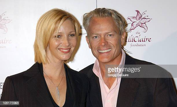 Lisa Kudrow and husband Michel Stern during The Lili Claire Foundation's 6th Annual Benefit at Beverly Hilton Hotel in Beverly Hills California...
