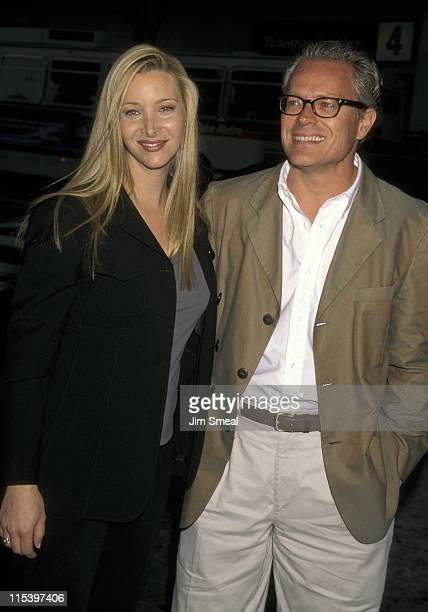 Lisa Kudrow and husband Michel Stern during The Opposite of Sex Los Angeles Premiere at Laemmle Monica's 4Plex in Los Angeles California United States