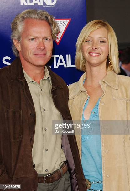 Lisa Kudrow and husband Michel Stern during Wonderland Hollywood Premiere at Grauman's Chinese Theater in Hollywood California United States