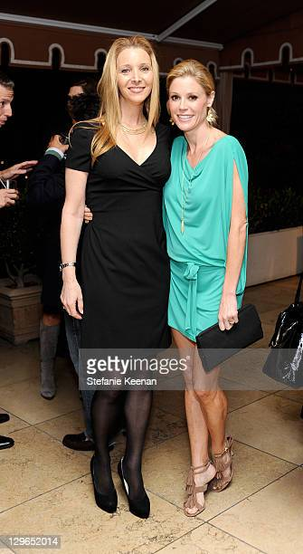 Lisa Kudrow and Julie Bowen attend David Yurman Celebrates 20th Anniversary Of PS ARTS at Sunset Tower on October 18, 2011 in West Hollywood,...