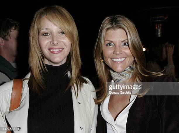 Lisa Kudrow and Lori Loughlin during Stars Make Their Voices Heard at a Silent Auction for Lollipop Theater Network at Private Home in Beverly Hills...