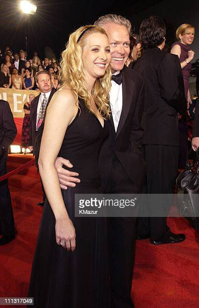 Lisa Kudrow and Michel Stern during The 29th Annual People's Choice Awards Arrivals at Pasadena Civic Auditorium in Pasadena California United States