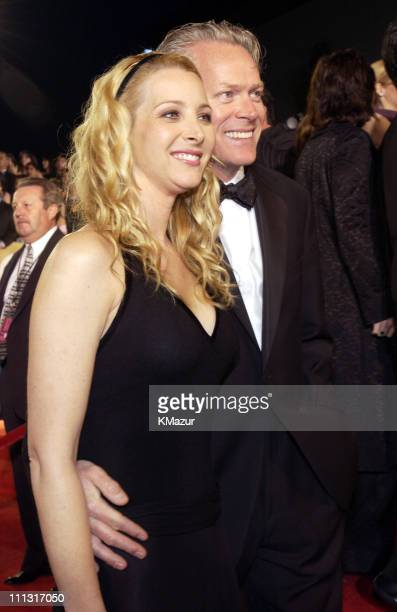 Lisa Kudrow and Michel Stern during The 29th Annual People's Choice Awards - Arrivals at Pasadena Civic Auditorium in Pasadena, California, United...