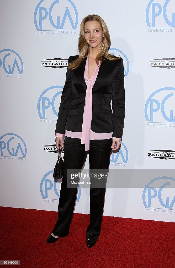 Lisa Kudrow arrives to the 21st Annual PGA Awards held at the Hollywood Palladium on January 24, 2010 in Hollywood, California.