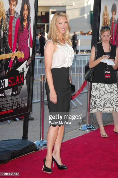 Lisa Kudrow attends BANDSLAM World Premiere at Mann's Village Theatre on August 6 2009 in Westwood California