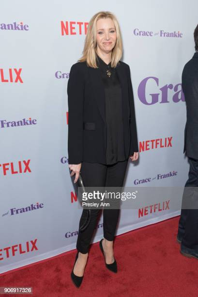 Lisa Kudrow attends Premiere Of Netflix's 'Grace And Frankie' Season 4 Red Carpet at ArcLight Cinemas on January 18 2018 in Culver City California