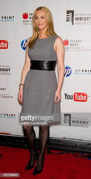 Lisa Kudrow attends the 14th Annual Webby Awards at Cipriani, Wall Street on June 14, 2010 in New York City.