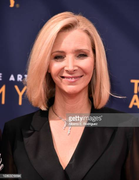 Lisa Kudrow attends the 2018 Creative Arts Emmys Day 2 at Microsoft Theater on September 9 2018 in Los Angeles California