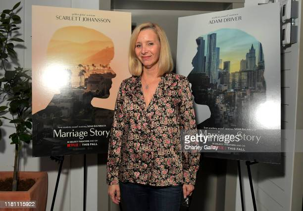 Lisa Kudrow attends the Netflix Marriage Story Reception Screening at San Vicente Bungalows on October 14 2019 in West Hollywood California