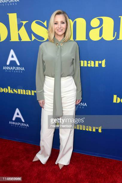 Lisa Kudrow attends the LA special screening of Annapurna Pictures' Booksmart at Ace Hotel on May 13 2019 in Los Angeles California