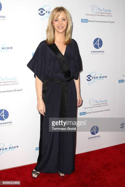 Lisa Kudrow attends the UCLA's Semel Institute's Biannual 'Open Mind Gala' held at The Beverly Hilton Hotel on March 22 2017 in Beverly Hills...