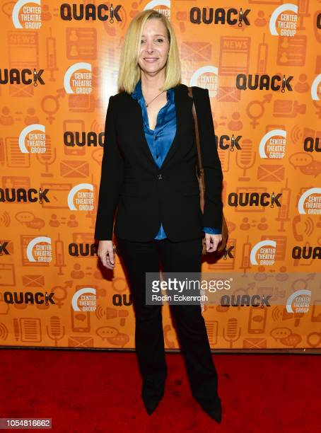 Lisa Kudrow Center Theatre Group's Kirk Douglas Theatre Hosts Opening Night Performance of Quack at Kirk Douglas Theatre on October 28 2018 in Culver...