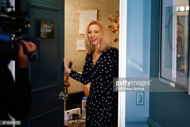 Lisa Kudrow checks in from the green room with James Corden during 'The Late Late Show with James Corden' Wednesday January 31 2018 On The CBS...