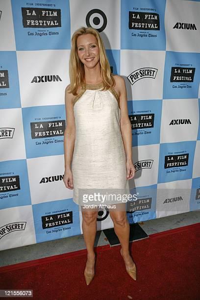 Lisa Kudrow during 2007 Los Angeles Film Festival Kabluey Screening at Mann Festival in Los Angeles California United States