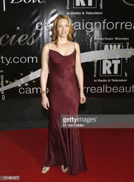 Lisa Kudrow during 31st Annual American Women in Radio Television Gracie Allen Awards at Marriott Marquis Hotel in New York New York United States