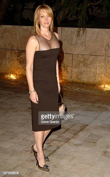 Lisa Kudrow during Dior and EIF's Women's Cancer Research Fund Celebrate the Launch of Dior Christal at the Getty Center in Los Angeles California...