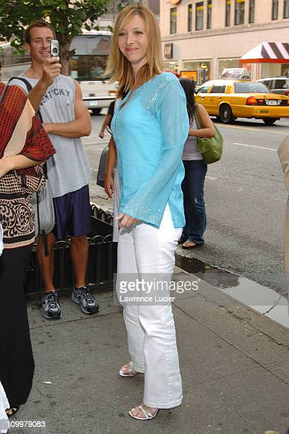 Lisa Kudrow during Happy Endings New York City Premiere at Chelsea Clearview in New York City New York United States