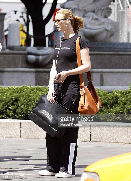 Lisa Kudrow during Lisa Kudrow Sighting in New York City June 20 2006 at Streets of Manhattan in New York City New York United States