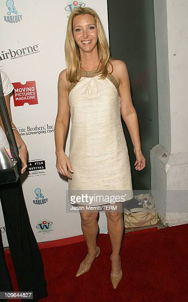Lisa Kudrow during Moving Pictures Presents Kabluey Premiere Party at Westwood Blvd in Westwood California United States