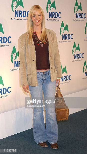Lisa Kudrow during NRDC Presents The Rolling Stones in a Free Concert to Fight Global Warming Arrivals at Staples Center in Los Angeles California...
