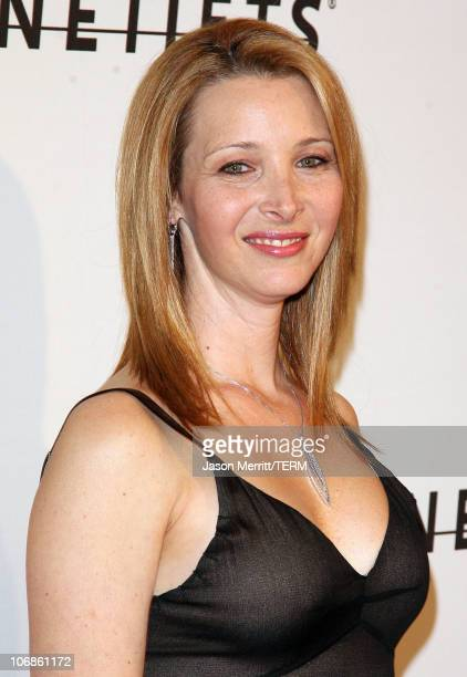 Lisa Kudrow during Saks Fifth Avenue's Unforgettable Evening Benefit for EIF's Women's Cancer Research Fund Arrivals at Regent Bevery Wilshire Hotel...
