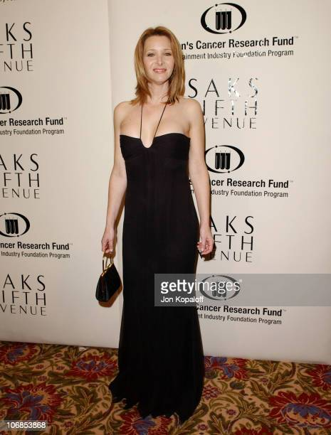 Lisa Kudrow during Saks Fifth Avenue's Unforgettable Evening Benefiting Women's Cancer Research Fund Arrivals at The Regent Beverly Wilshire Hotel in...