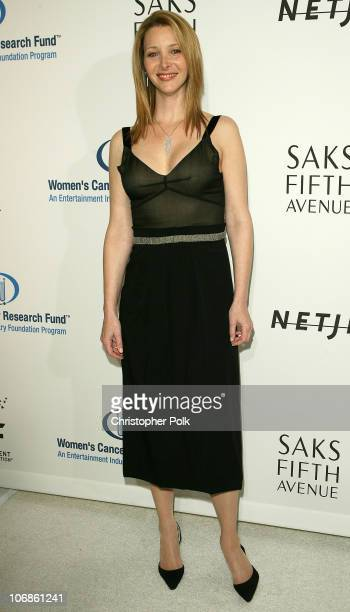 Lisa Kudrow during Saks Fifth Avenue's Unforgettable Evening Benefiting Women's Cancer Research Fund Arrivals and Inside at The Regent Beverly...