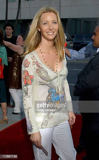 Lisa Kudrow during 'Sicko' Los Angeles Premiere Arrivals at Academy Theatre in Beverly Hills California United States