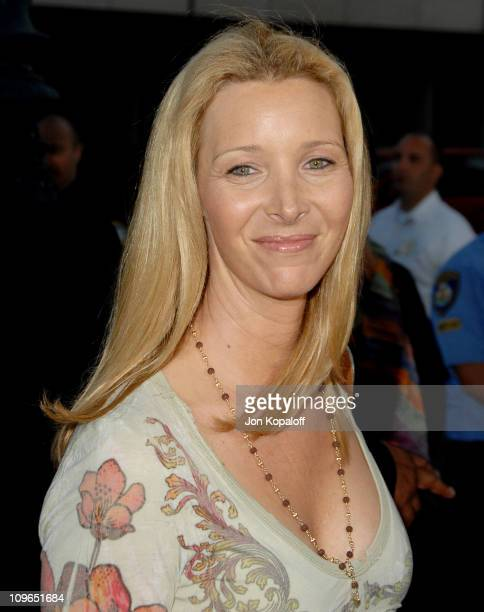 Lisa Kudrow during Sicko Los Angeles Premiere Arrivals at Academy Of Motion Picture Arts Sciences in Beverly Hills California United States