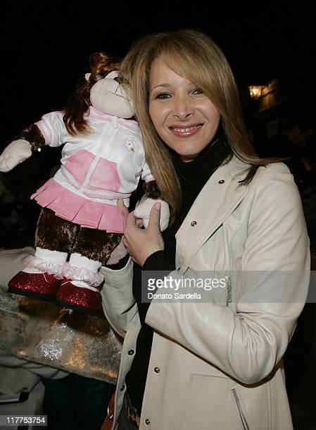 Lisa Kudrow during Stars Make Their Voices Heard at a Silent Auction for Lollipop Theater Network at Private Home in Beverly Hills California United...