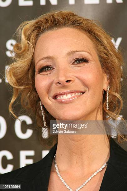 Lisa Kudrow during The Film Society Of Lincoln Center 34th Gala Tribute to Diane Keaton Red Carpet Arrivals at Avery Fisher Hall at Lincoln Center in...