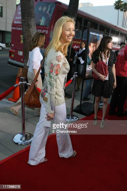 Lisa Kudrow during The Weinstein Company and Lionsgate Films Present the Los Angeles Screening of 'Sicko' at The Academy of Motion Pictures and...