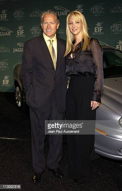 Lisa Kudrow husband Michel Stern during Jaguar's Tribute to Style on Rodeo Drive Benefit at Rodeo Drive in Beverly Hills California United States
