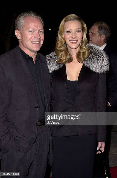 """Lisa Kudrow & Husband Michel Stern during """"Lucky Numbers"""" Los Angeles Premiere at Paramount Pictures in Hollywood, California, United States."""