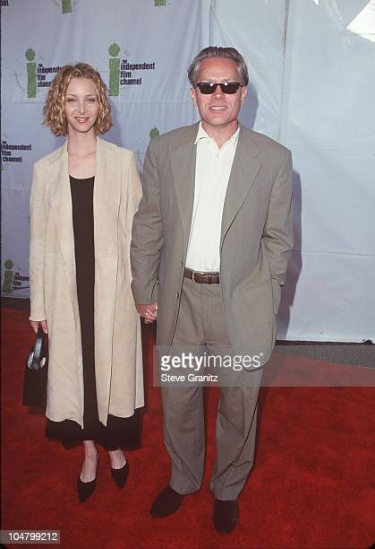 Lisa Kudrow Husband Michel Stern during The 14th Annual IFP/West Independent Spirit Awards at Santa Monica Beach in Santa Monica California United...