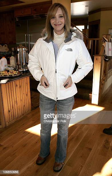 Lisa Kudrow in The North Face during UPP Hot House sponsored by The North Face Napapijri Hush Puppies Nautica LEE Biolage Absolut Atkins Wigwam and...