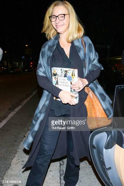 Lisa Kudrow is seen on December 09, 2019 in Los Angeles, California.
