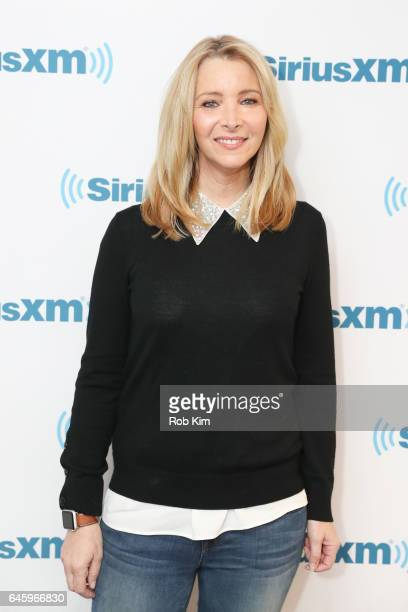 Lisa Kudrow visits at SiriusXM Studios on February 27 2017 in New York City