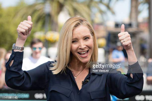 Lisa Kudrow visits Extra at Universal Studios Hollywood on April 09 2019 in Universal City California
