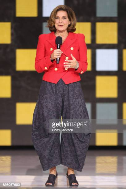 Lisa LaFlamme speaks onstage during the closing ceremony of the Invictus Games 2017 at Air Canada Centre on September 30 2017 in Toronto Canada