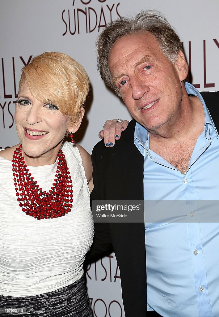 Lisa Lampanelli and Alan Zweibel attend the 'Billy Crystal - 700 Sundays' Broadway Opening Night at the Imperial Theatre on November 13, 2013 in New York City.