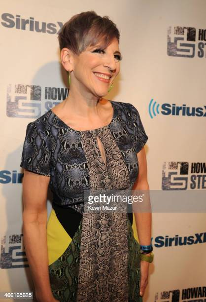 Lisa Lampanelli attends Howard Stern's Birthday Bash Presented By SiriusXM Produced By Howard Stern Productions at Hammerstein Ballroom on January 31...