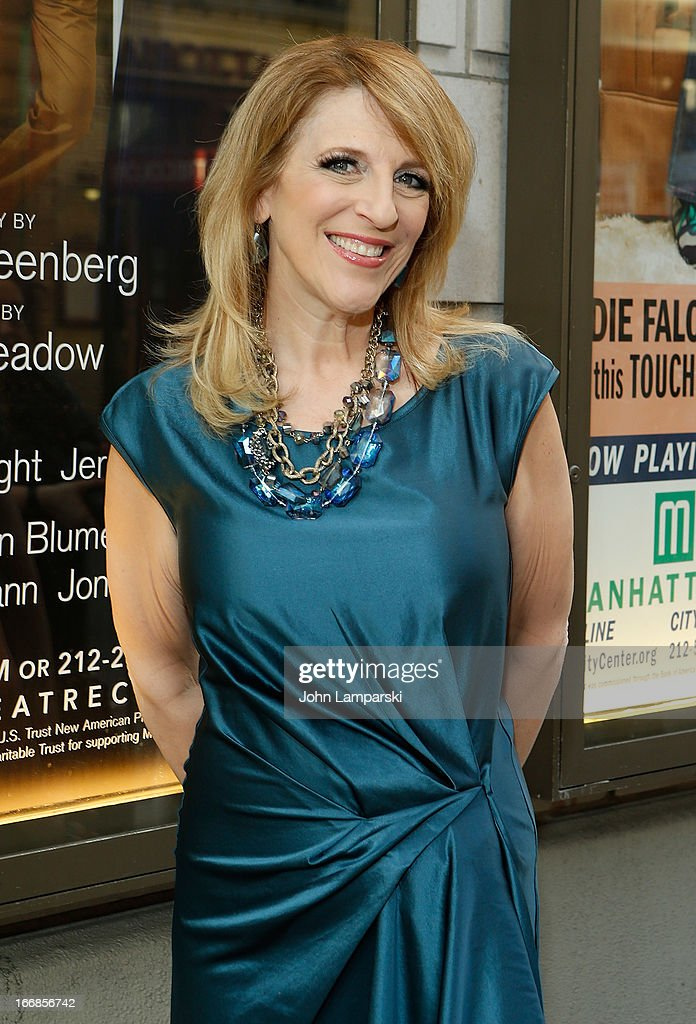 Lisa Lampanelli attends 'The Assembled Parties' Broadway Opening Night>> at the Samuel J. Friedman Theatre on April 17, 2013 in New York City.